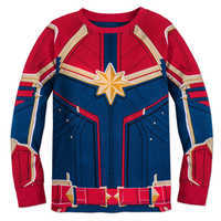 Image of Marvel's Captain Marvel Costume PJ PALS for Girls # 2