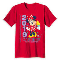 Image of Minnie Mouse Family Vacation T-Shirt for Adults - Disneyland 2019 - Customized # 5