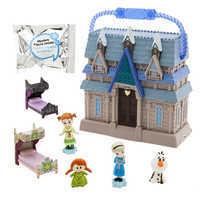 Image of Disney Animators' Little Collection Arendelle Castle Surprise Feature Playset - Frozen # 2