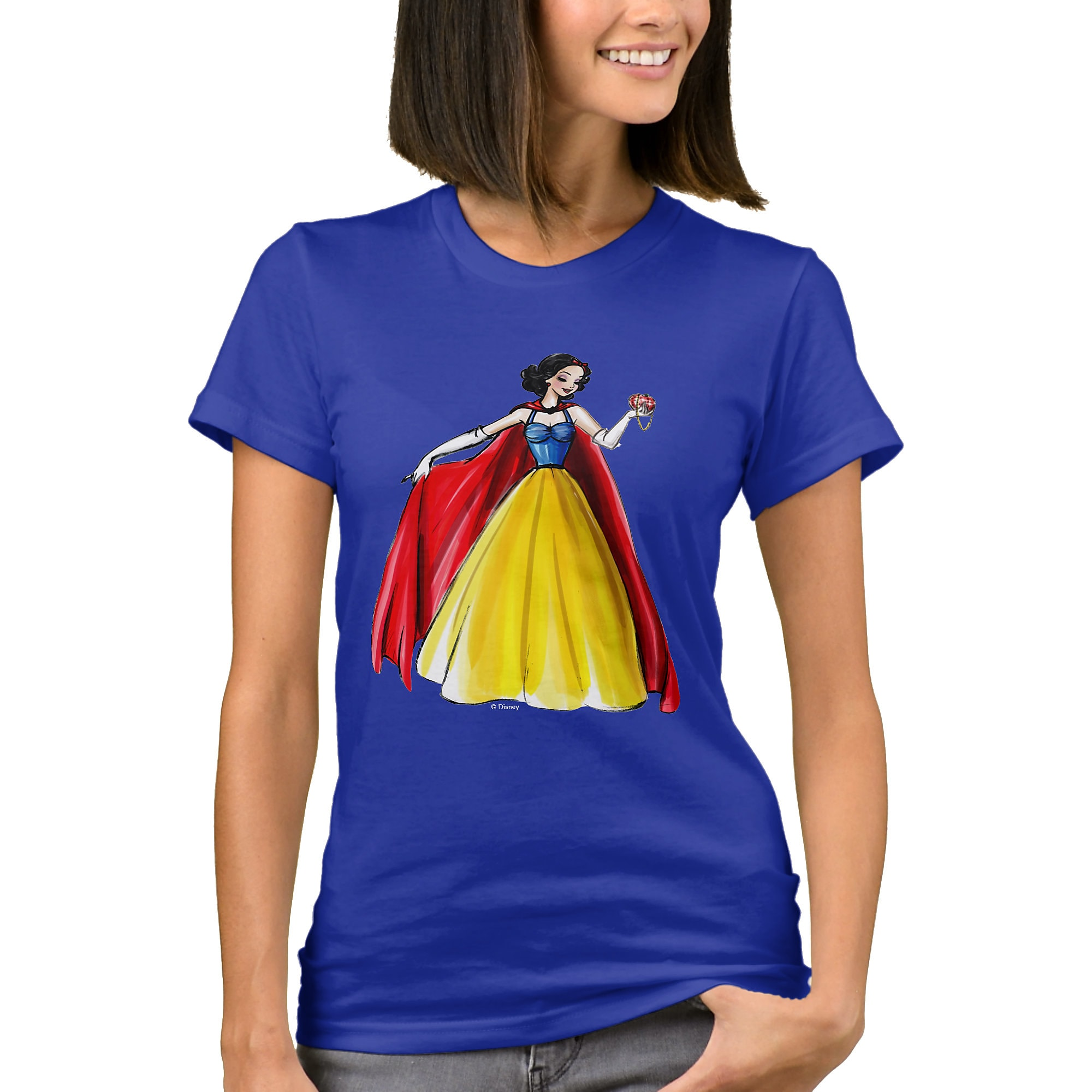 Snow White T-Shirt - Art of Princess Designer Collection