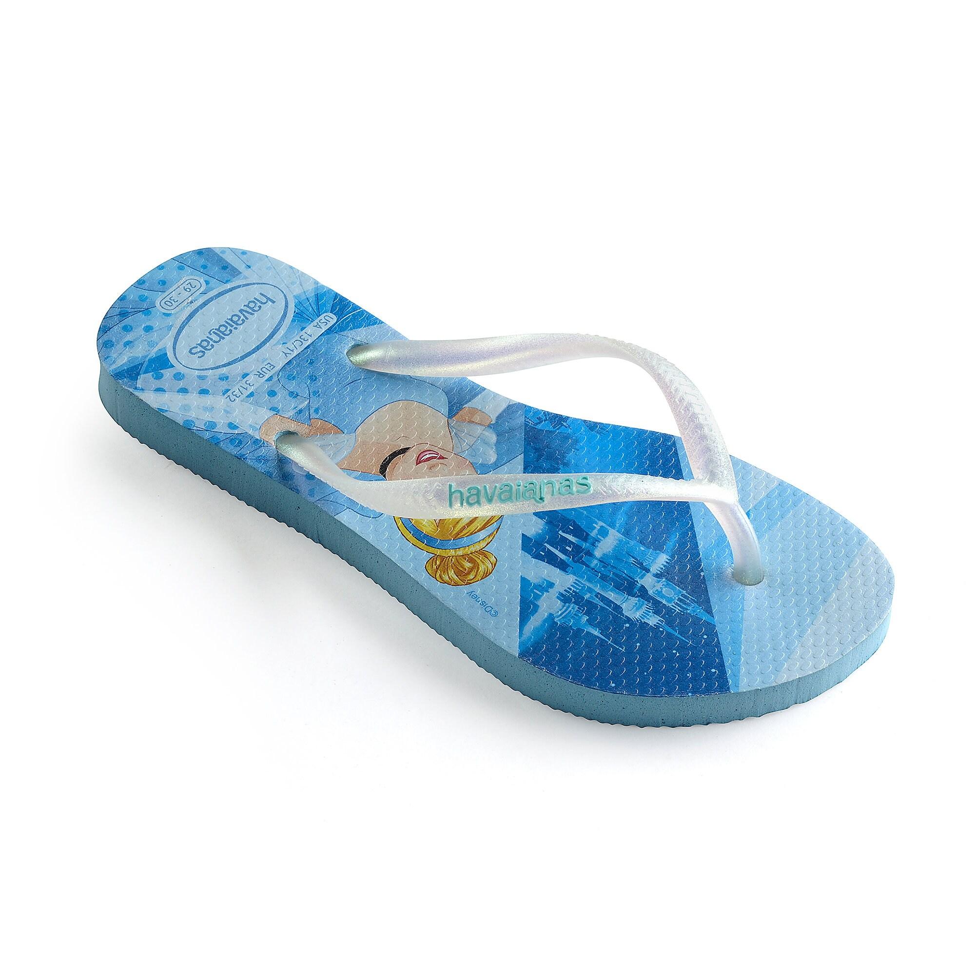 5b66b67c623e9d Cinderella Flip Flops for Kids by Havaianas
