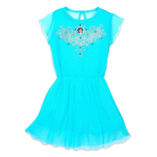 Jasmine Drop-Waist Dress for Girls - Aladdin - Live Action Film