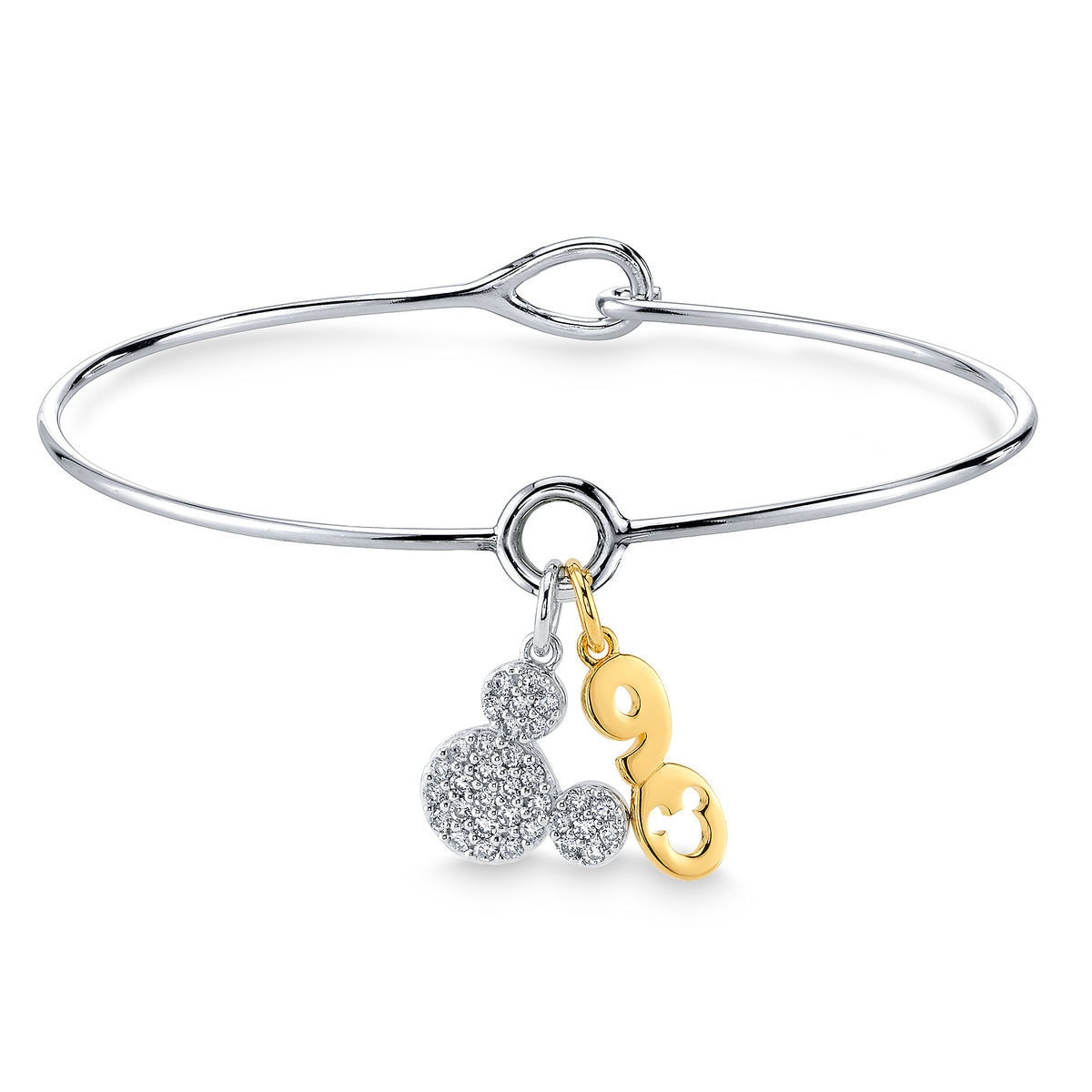 Product Image Of Mickey Mouse 90th Anniversary Two Tone Bracelet 1