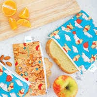 Image of Winnie the Pooh Snack Bags by Bumkins # 2