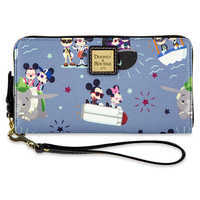 Image of Mickey and Minnie Mouse Wallet by Dooney & Bourke # 1