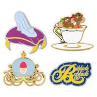 Cinderella Pin Trading Booster Set