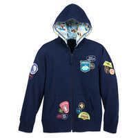 Image of Mickey Mouse and Friends Zip Hoodie for Kids - Walt Disney World # 1