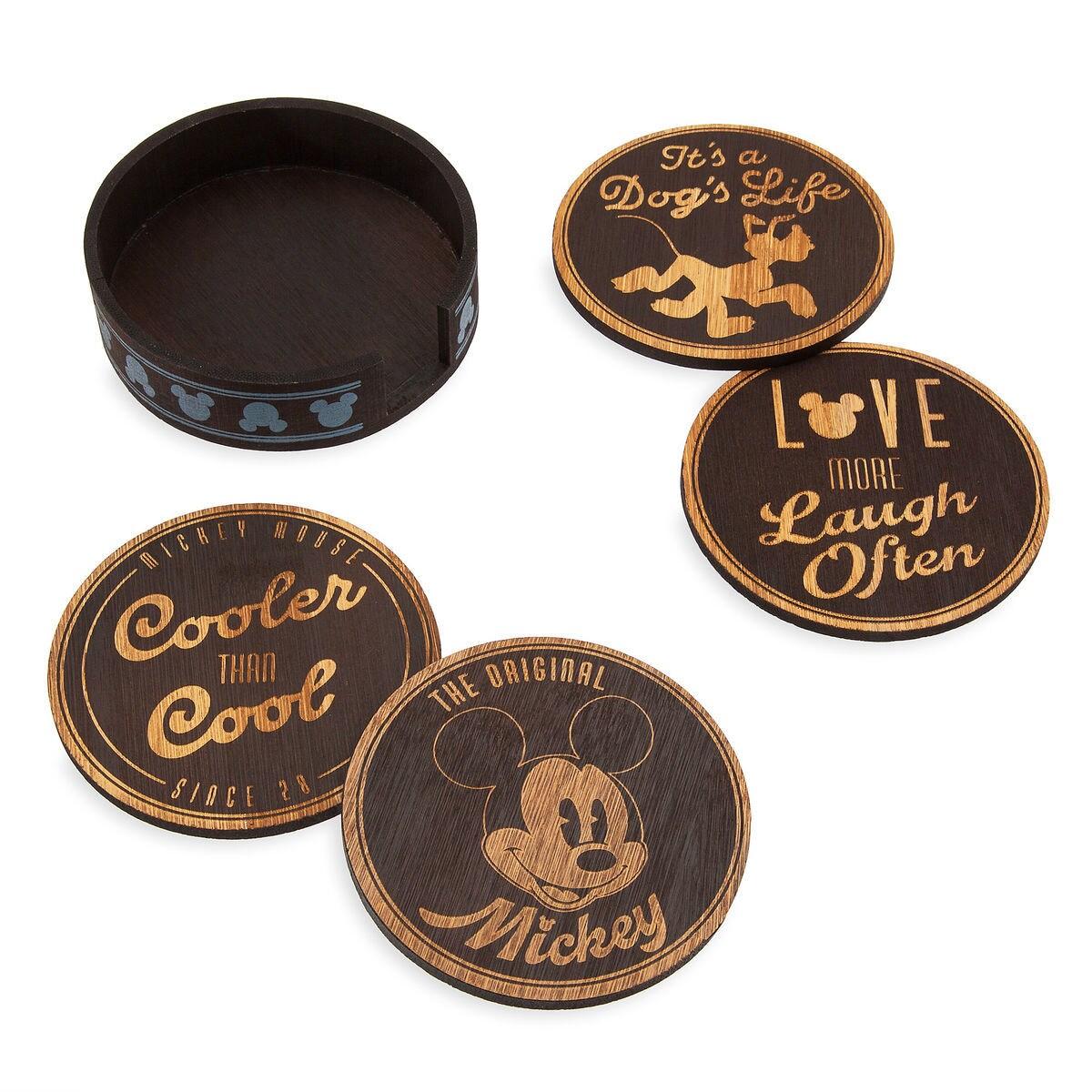Mickey Mouse Coaster Set Of 4 Shopdisney