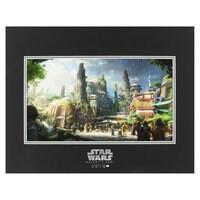 Star Wars: Galaxy's Edge Deluxe Print