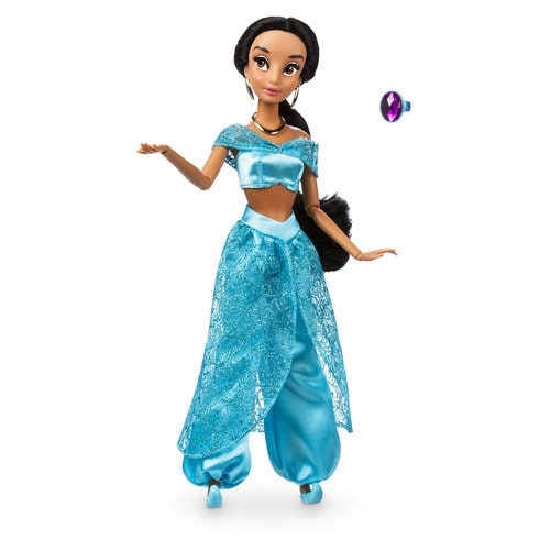 Jasmine Classic Doll With Ring Aladdin 11 1 2