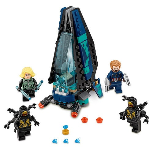 Outrider Dropship Attack Playset By Lego Marvel S