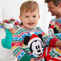 Image of Mickey Mouse Family Holiday Sweater for Baby # 3