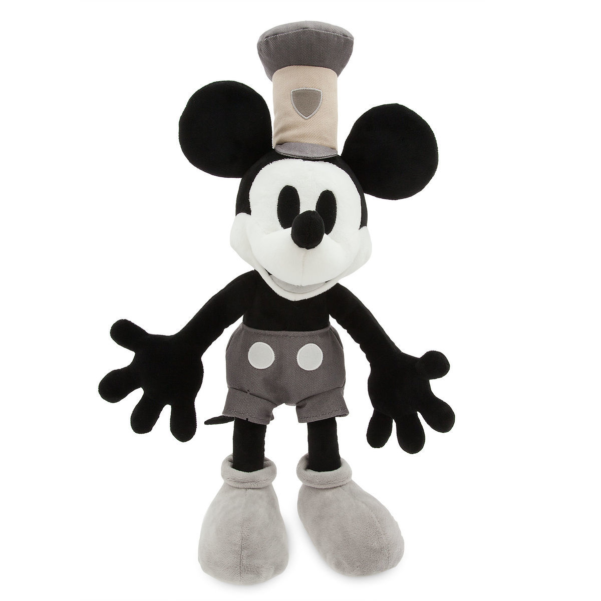 mickey mouse plush steamboat willie medium shopdisney
