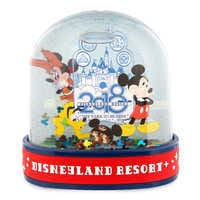 Image of Mickey Mouse and Friends Water Globe 2018 - Disneyland # 1