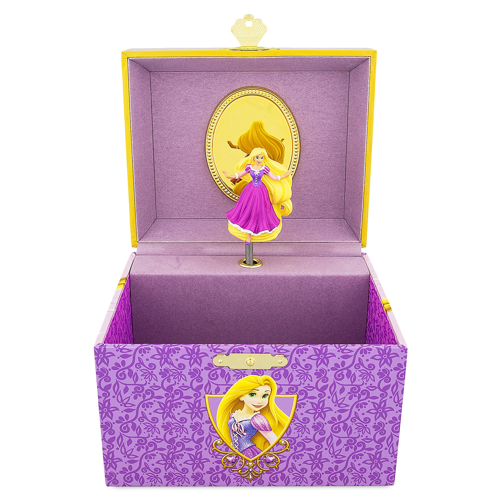Rapunzel Musical Jewelry Box