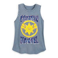 Image of Marvel's Captain Marvel Tank Top for Women # 1