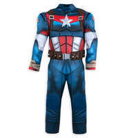 Image of Captain America Costume for Kids # 3