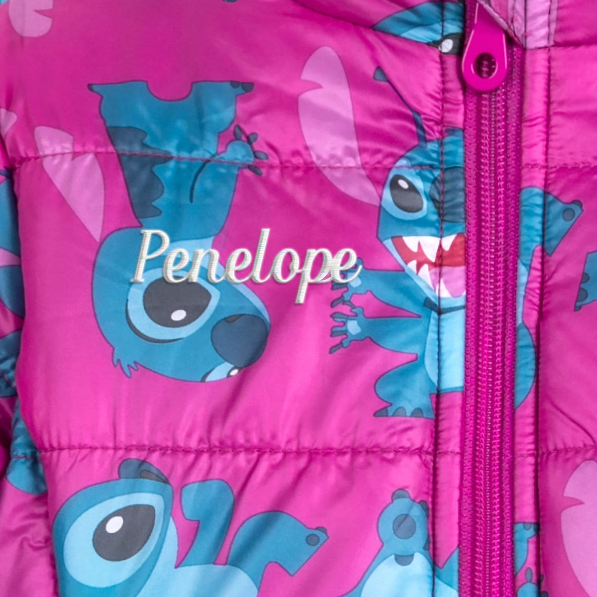 aafd1e4d4 Stitch Lightweight Puffy Jacket for Kids - Personalizable