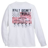 Mickey Mouse Americana Long Sleeve T-Shirt - Walt Disney World - Adults