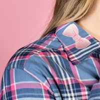 Image of Bo Peep Flannel Shirt for Adults by Cakeworthy - Toy Story 4 # 6