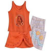 Image of Moana Deluxe PJ Set for Girls # 1
