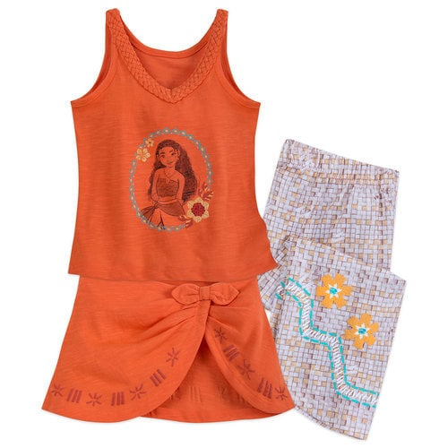 Moana Deluxe Pj Set For Girls Shopdisney