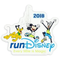 Image of Mickey Mouse and Friends runDisney Magnet 2018 # 1