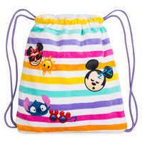 Image of Disney Emoji Premium Beach Towel with Bag # 3