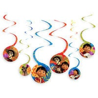 Coco Spiral Party Decorations