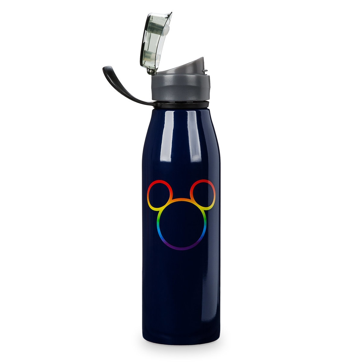 Product Image of Rainbow Mickey Collection Stainless Steel Water Bottle # 1