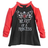 Snow White ''Heart'' Top for Tweens