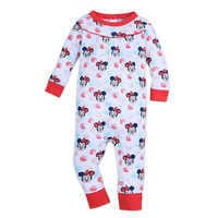Image of Minnie Mouse Polka Dot Stretchie for Baby # 1