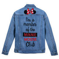 Image of Minnie Mouse Club Denim Jacket for Women # 2