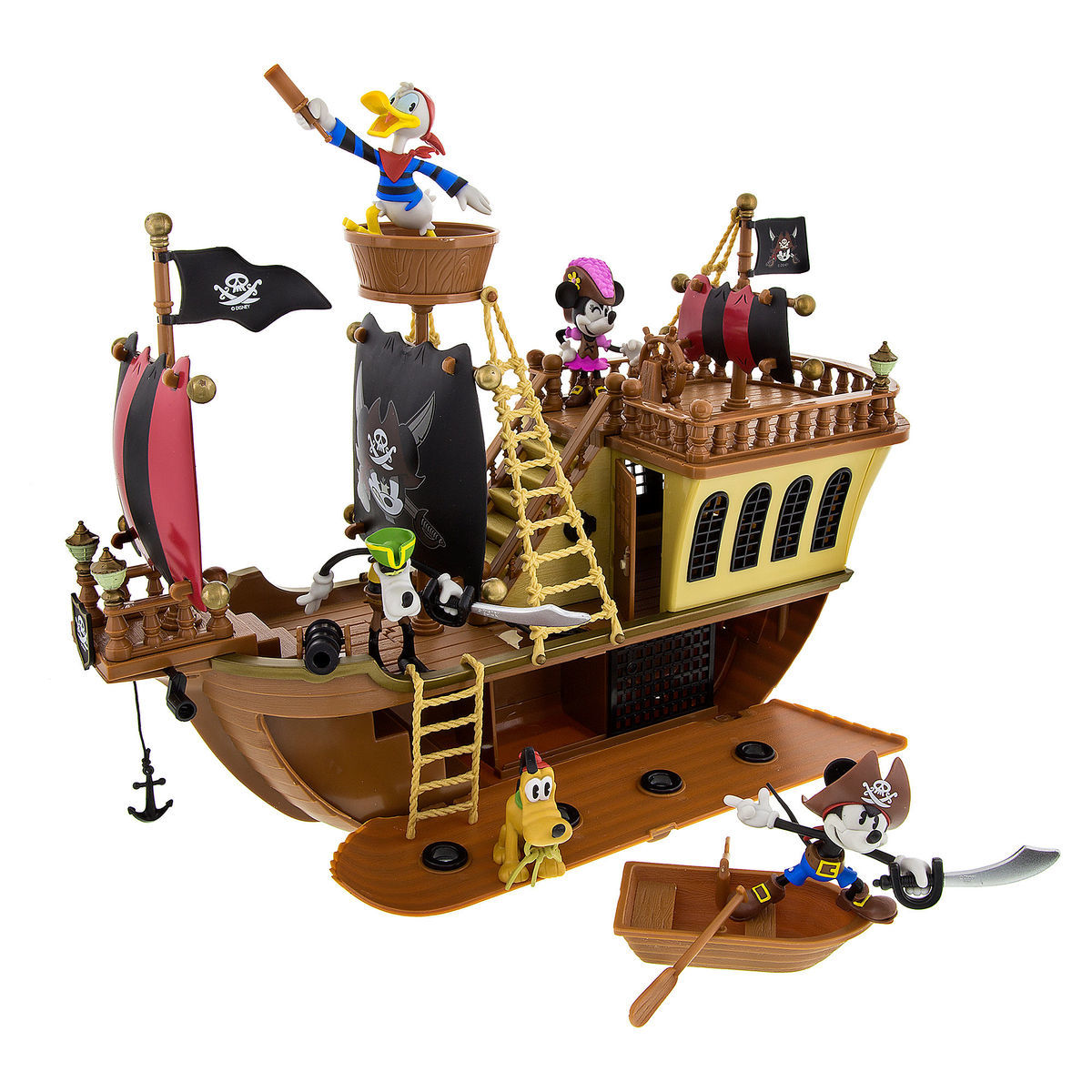 Mickey Mouse Pirates Of The Caribbean Pirate Ship Playset Shopdisney