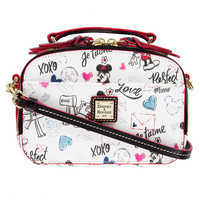 Image of Mickey and Minnie Sweethearts Ambler Crossbody Bag by Dooney & Bourke # 1