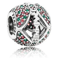 Minnie Mouse Holiday Bow Charm by PANDORA