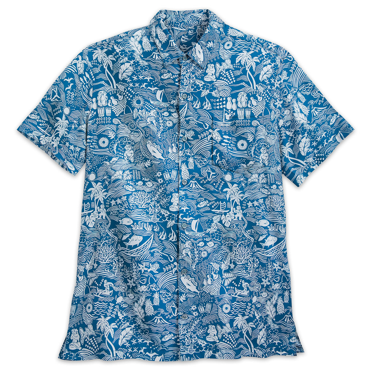 98f0822b Product Image of Aulani, A Disney Resort & Spa Aloha Shirt for Men by Tori