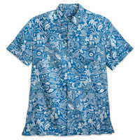 Image of Aulani, A Disney Resort & Spa Aloha Shirt for Men by Tori Richard # 1