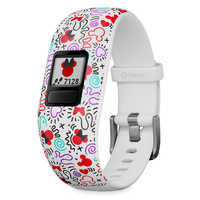 Image of Minnie Mouse Icon Garmin vivofit jr. 2 Activity Tracker for Kids by Garmin # 1