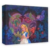 Image of Alice in Wonderland ''In the Heart of Wonderland'' Giclée on Canvas by Michael Humphries # 1