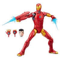 Image of Invincible Iron Man Action Figure - Black Panther Legends Series # 1
