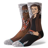 Image of Han Solo and Chewbacca Kessel Run Socks by Stance for Adults - Solo: A Star Wars Story # 1