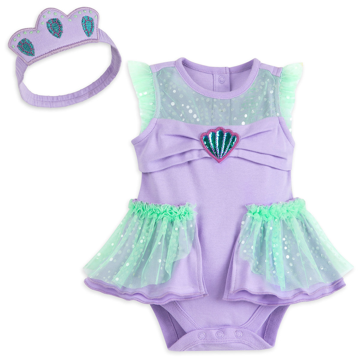 9cb0aba824 Product Image of Ariel Costume Bodysuit for Baby # 1