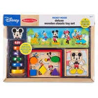 Image of Mickey Mouse Deluxe Wooden Classic Toy Set by Melissa & Doug # 5