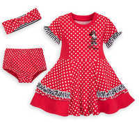 Image of Minnie Mouse Dress Set for Baby - Walt Disney World # 1