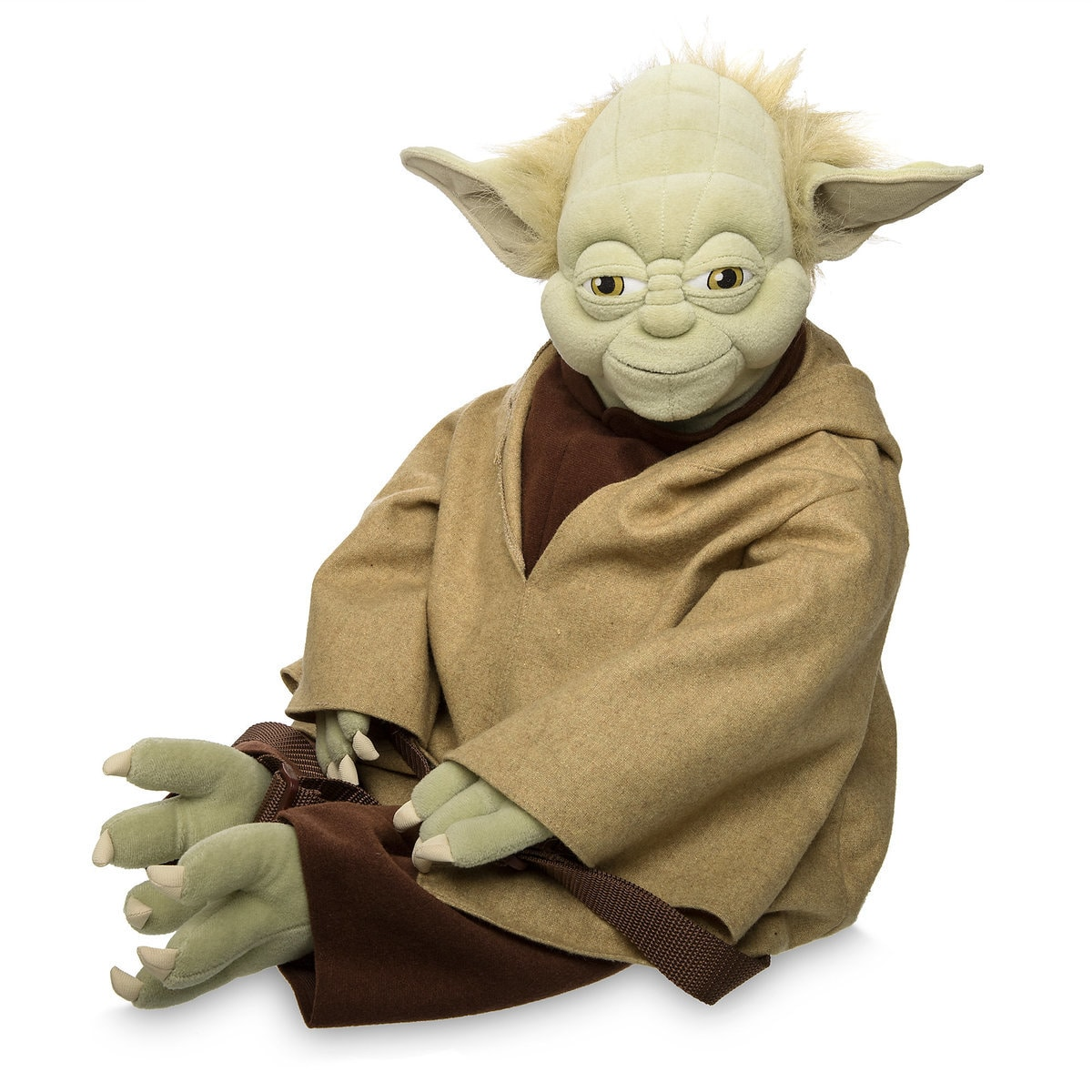 c3a37f9770f Product Image of Yoda Plush Backpack - Star Wars   1