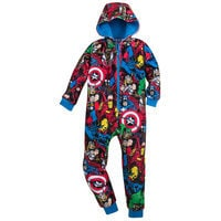Avengers One Piece PJs for Boys