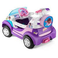 Image of Doc McStuffins Electric Ride-On Rescue Ambulance # 3