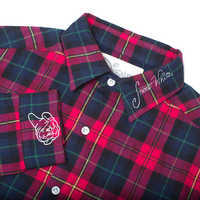 Image of Snow White Flannel Shirt for Adults by Cakeworthy # 3