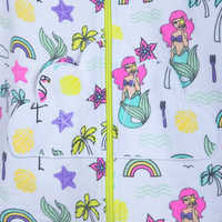 Image of Ariel Swim Cover-Up for Girls - Personalizable # 4